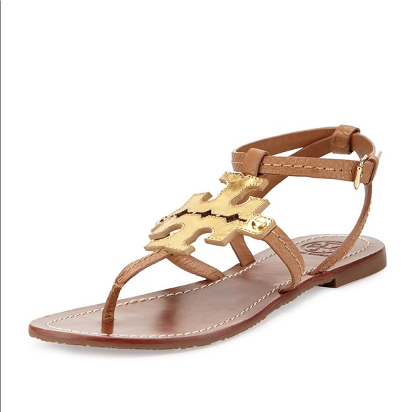 Tory Burch Gold Sandal Tory Burch Phoebe Sandal 9 Tory Burch Gold Sandals Shoes